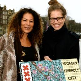 Wethouder Simone Kukenheim waardeert ons initiatief women Friendly City enorm, Siomara van Eer Mosaicaffairs