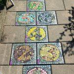 mozaïek hinkelbaan MosaicAffairs mosaic creatieve workshop scholen
