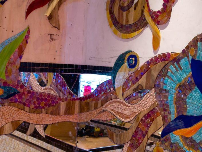 Coffeeshop Amsterdam Abraxas Mozaïek Siomara van Eer MosaicAffairs mosaic art in oipdracht