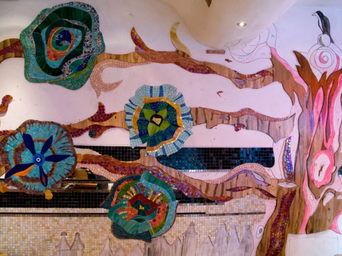 Coffeeshop Abraxas Mozaiek Siomara van Eer MosaicAffairs mosaic art in opdracht