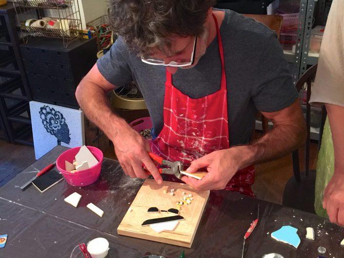 Creatief Bedrijfsuitje workshop mozaïek MosaicAffairs