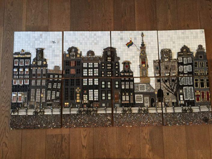 Mozaïek op Locatie HvA Amsterdam MosaicAffairs