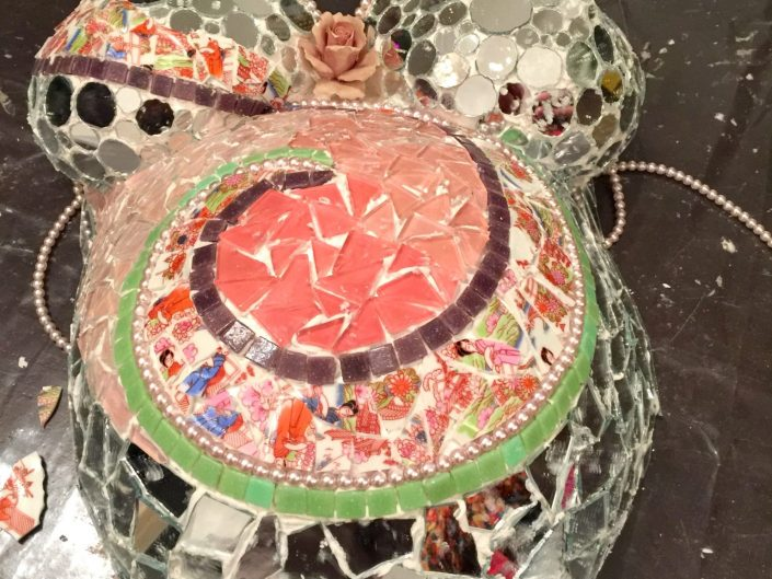 Mozaïek Bellymask MosaicAffairs