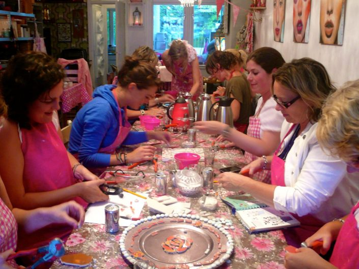 vrijgezellenfeest mozaïek workshop Mosaicaffairs