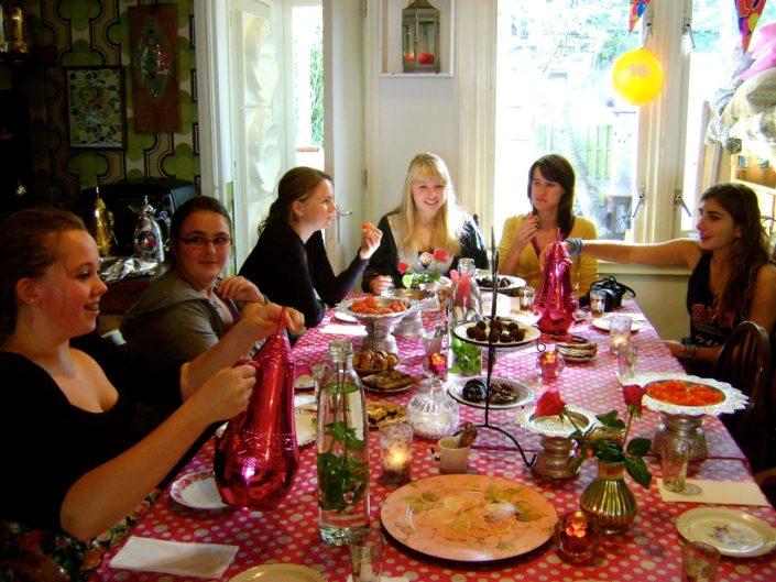 Sweet 16 High Tea Amsterdam MosaicAffairs verjaardags feest
