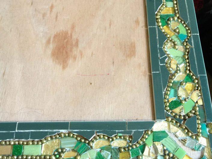 Mozaïek spiegel in opdracht MosaicAffairs